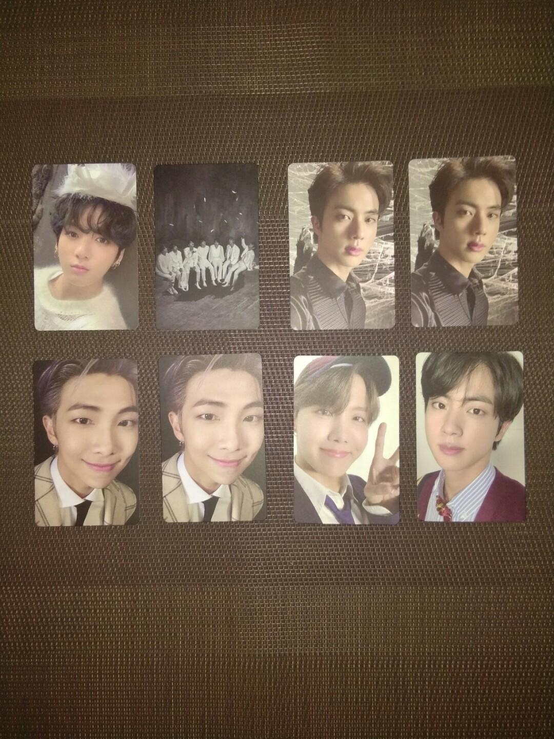 [PRICE REDUCED] WTS BTS MAP OF THE SOUL: 7 PHOTOCARDS