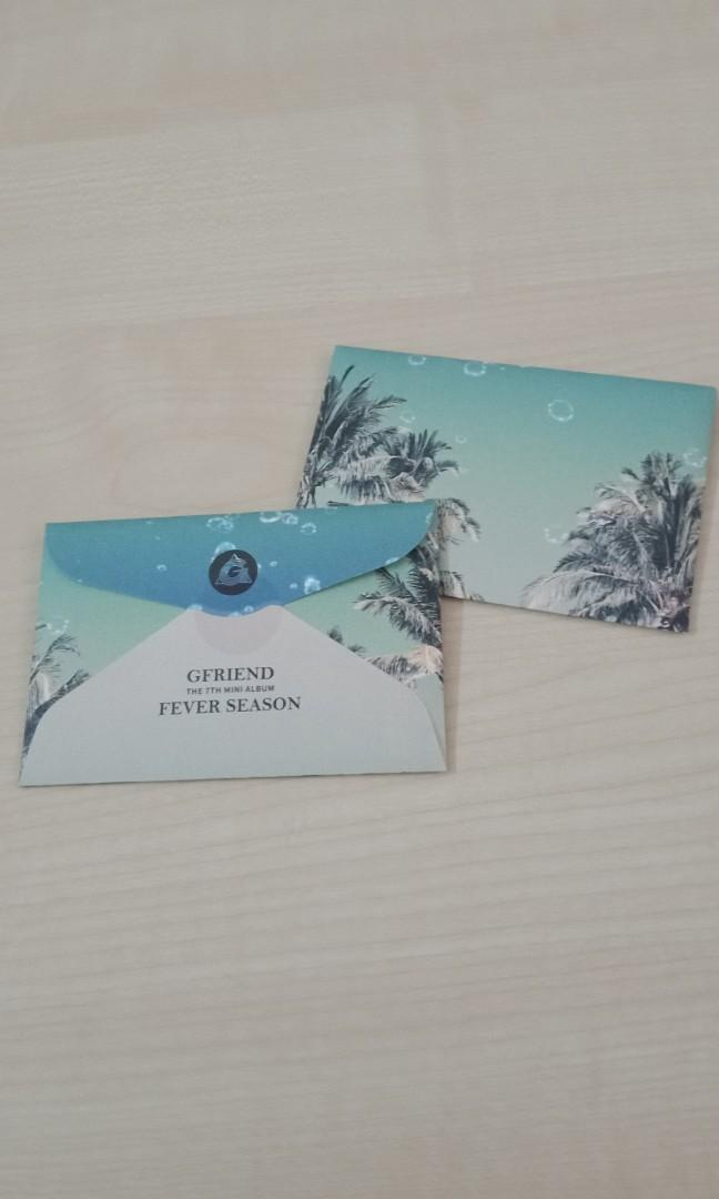 [WTS] Gfriend Fever Season preorder photocards loose