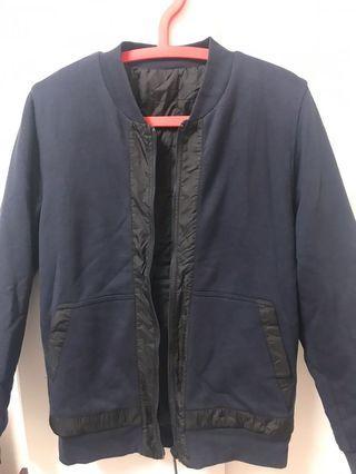 Calvin Klein雙面鋪棉外套