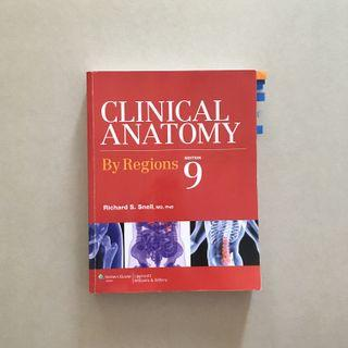 Clinical Anatomy 9th Edition / Snell