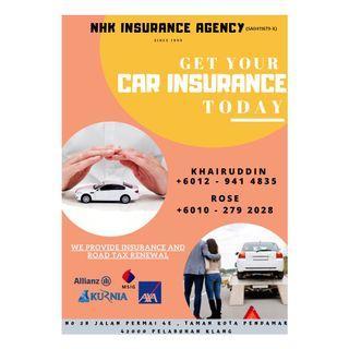 car insurance / motorbike insurance / lorry insurance