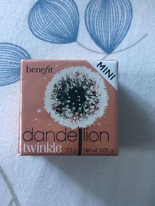 Benefit Dandelion Twinkle Mini (Highlighter)