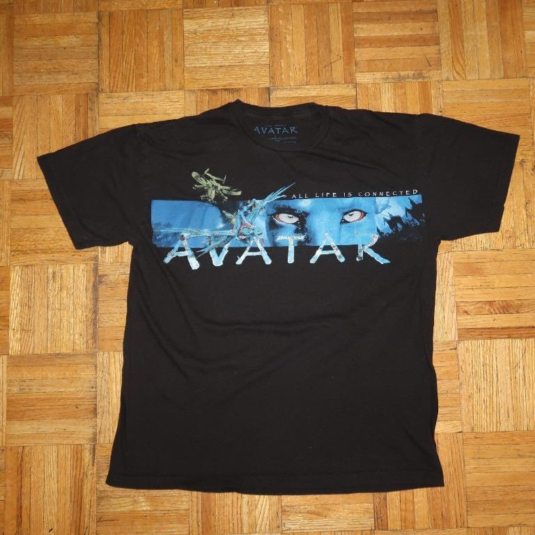 2009 Avatar Movie All Life is Connected Graphic tee