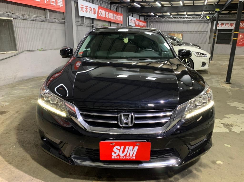 2015年出廠 最新款Honda Accord 2.4VTi-s 黑色