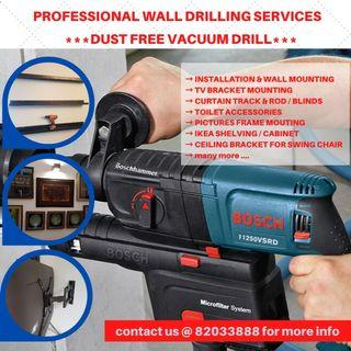 Wall Drilling Services