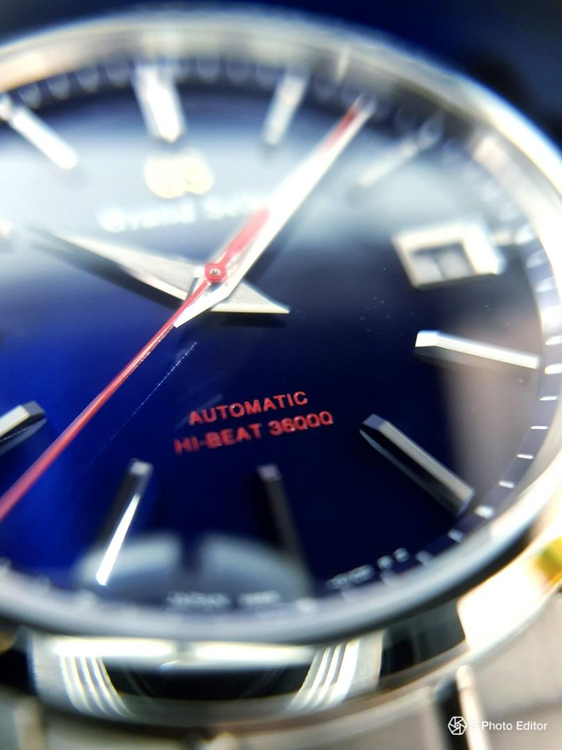 * FREE DELIVERY * Brand New 100% Authentic Grand Seiko Limited Edition 60th Anniversary Hi-Beat Men's Automatic Dress Watch SBGH281