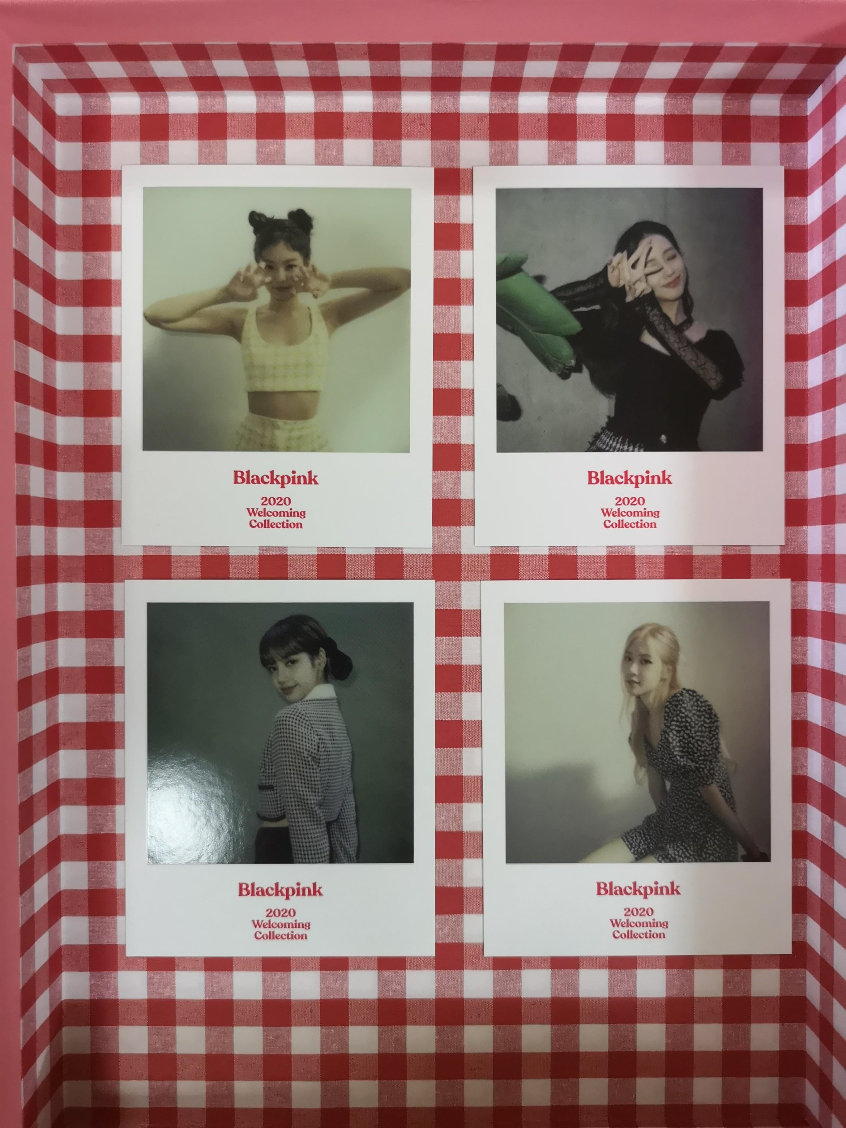 Blackpink 2020 Photo + Polaroid Card Welcoming Collection