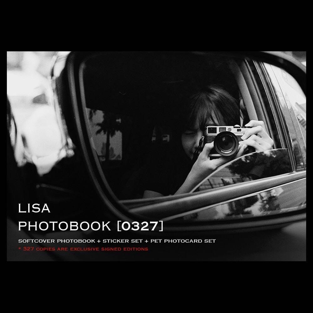 WILL UPDATE ON 27/28 ✨Blackpink Lisa Photobook 0327 Limited Edition