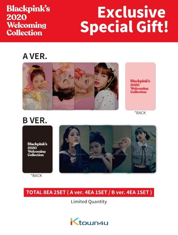 BLACKPINK's 2020 WELCOMING COLLECTION *Ktown4u Pre-order benefit : Unrevealed Photocard