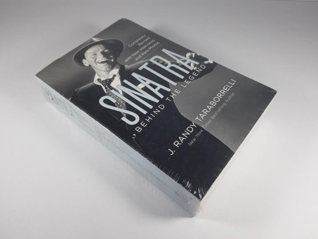 [Book Sale] Sinatra: Behind the Legend by J. Randy Taraborrelli (Biography)