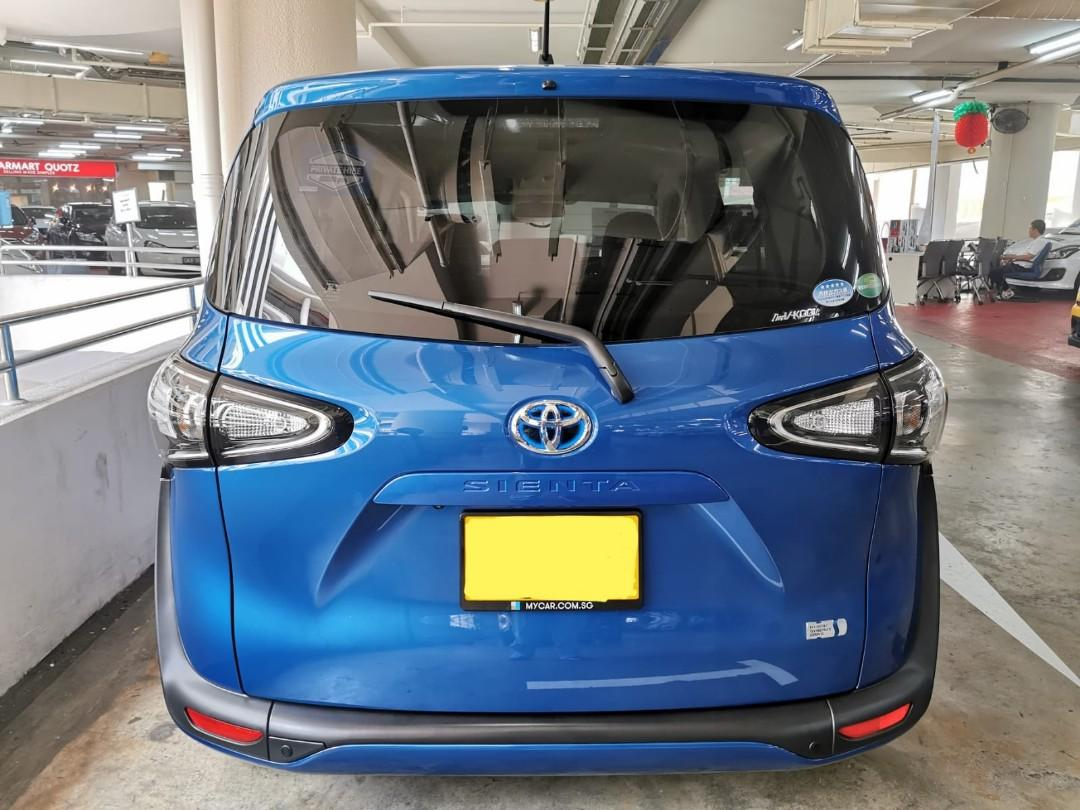 """Brand New Toyota Sienta Hybrid 1.5X for Rental - Lease to Own Option Available (Click on """"read more"""" for more details)"""