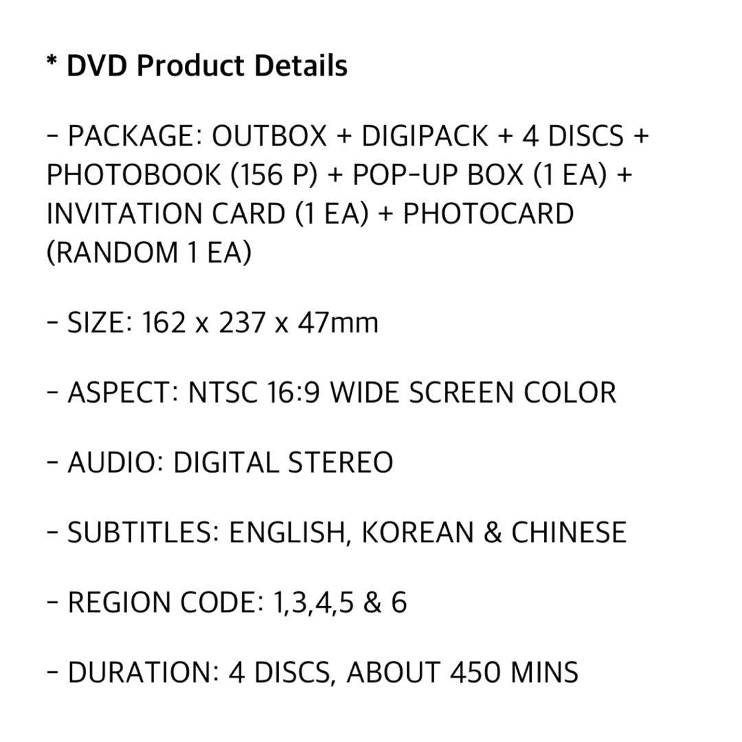 [BTS] 5TH MUSTER MAGIC SHOP DVD FULL SET AND LOOSE ITEMS