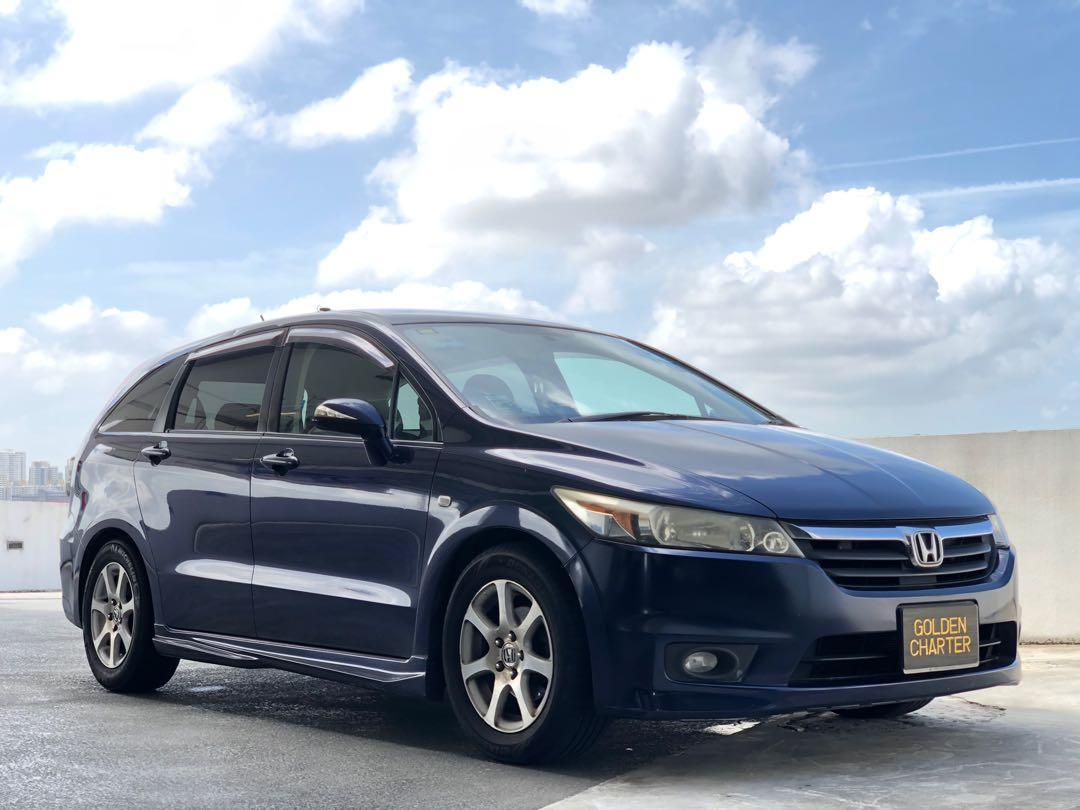 Honda Stream For Rent! Gojek/Grab/Personal/Private Hire