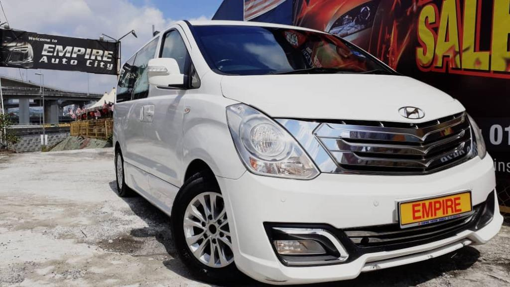 HYUNDAI GRAND STAREX ROYALE 12 SEATERS MPV 2.5 (A) CRDI DIESEL TURBO !! PREMIUM FULL LIMITED EXECUTIVE EDITION !! NEW FACELIFT !! PREMIUM MPV FULL HIGH SPECS !! ( AXX 6161 ) 1 CAREFUL OWNER !!