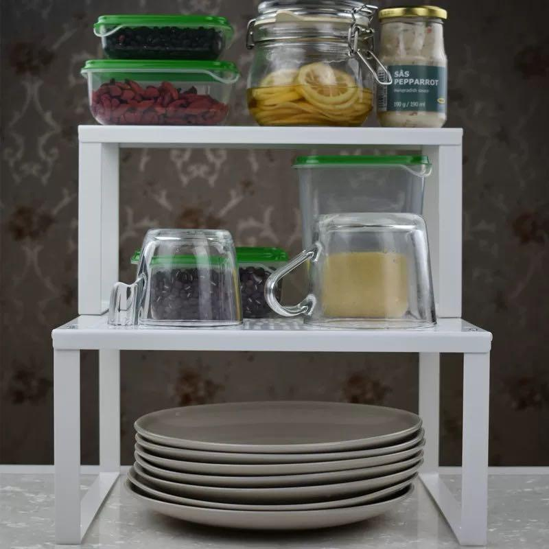 IKEA VARIERA Big Shelf insert, white, kitchen organizer
