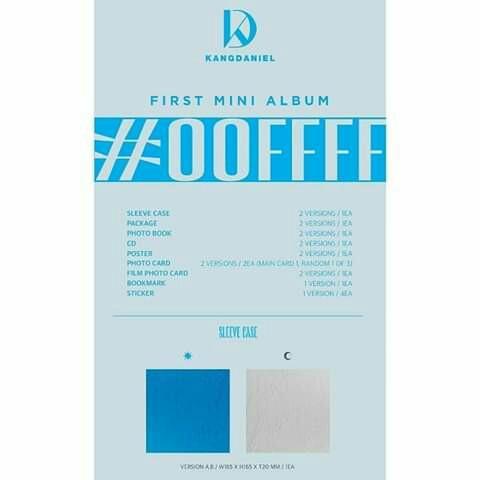 Kang Daniel - Mini Album Vol.1 [CYAN] (Random Ver.)