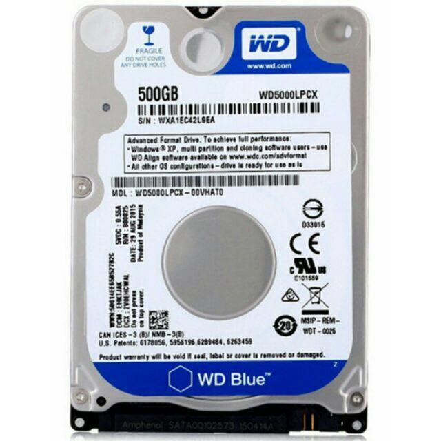 Laptop Hard Disk 500gb 2 5 Sata Electronics Computer Parts Accessories On Carousell