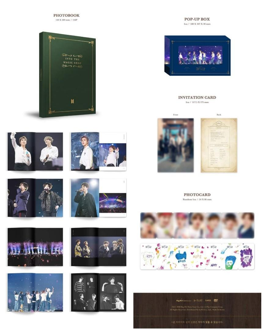 [LOOSE ITEM] BTS 5TH MUSTER MAGIC SHOP DVD/BLU RAY