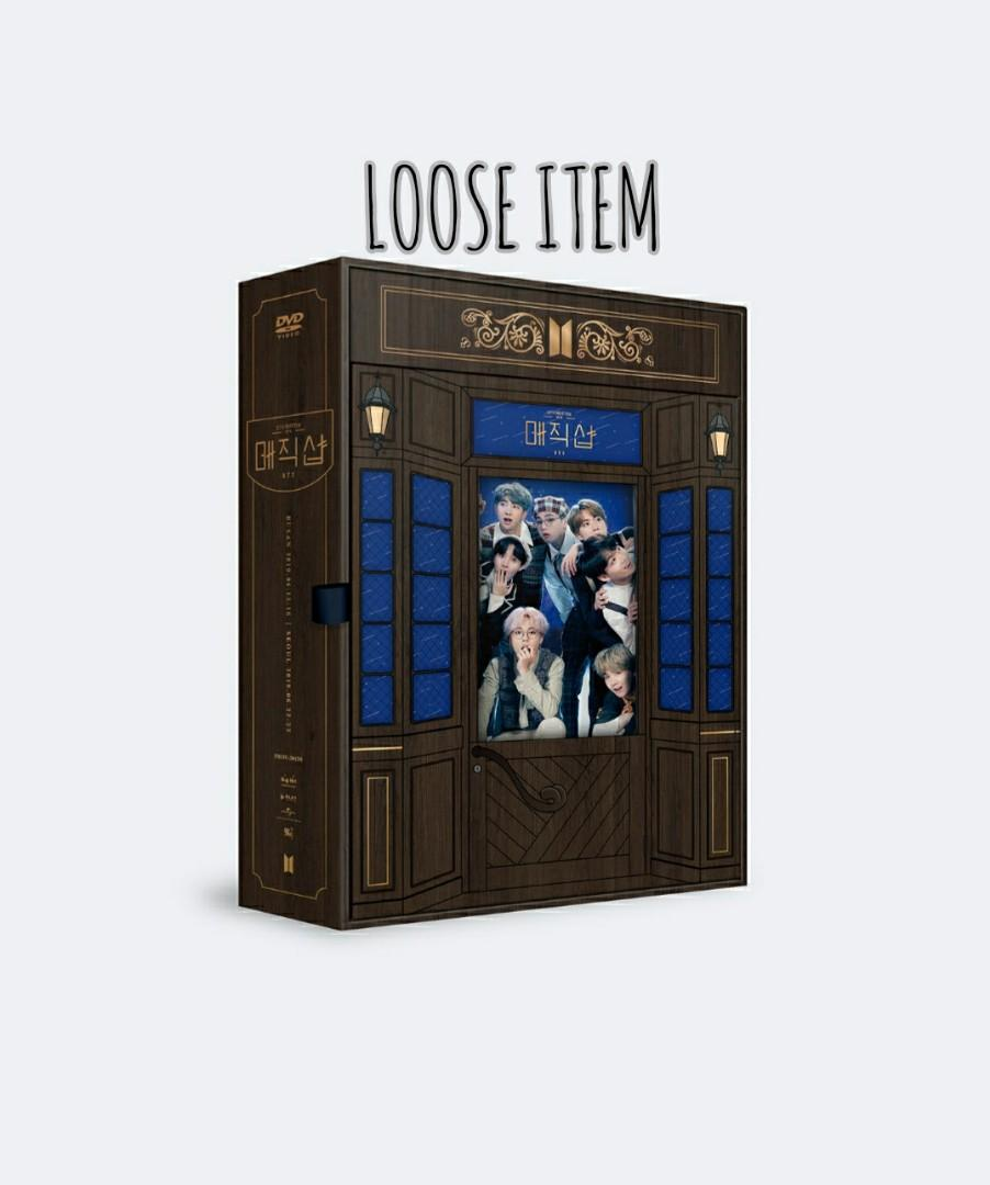 [LOOSE ITEM] BTS 5TH MUSTER [MAGIC SHOP] DVD BLU-RAY