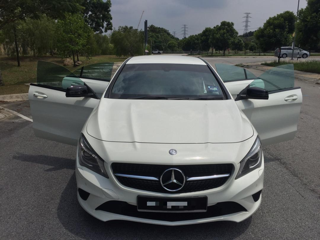 MERCEDES CLA 200 AMG SPEC (A)PADDLE SHIFTER  SAMBUNG BAYAR/CONTINUE LOAN