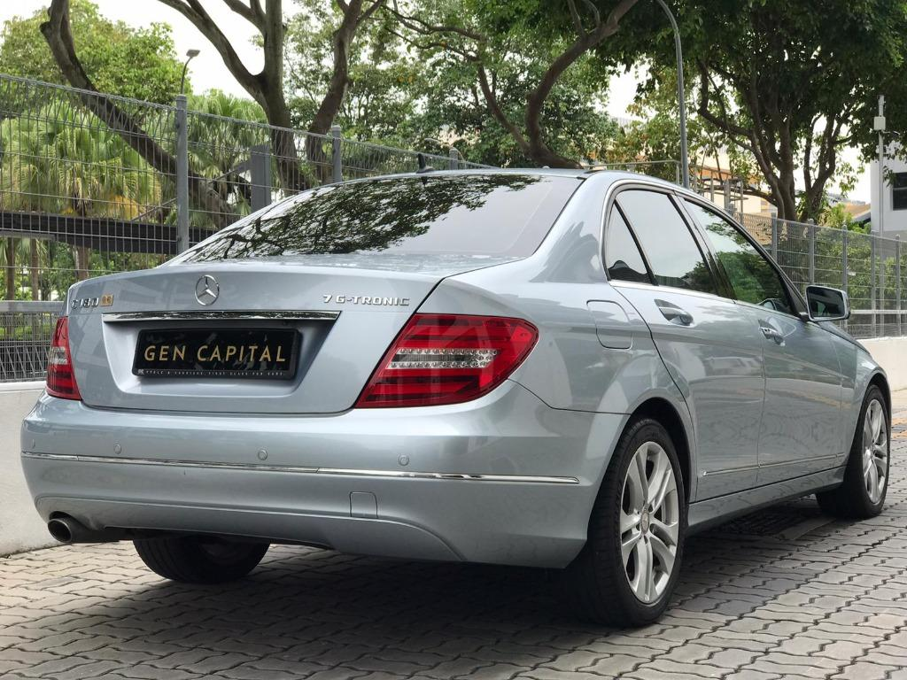 Mercedes-Benz C180 CGI BlueEfficiency 7G-Tronic (A)
