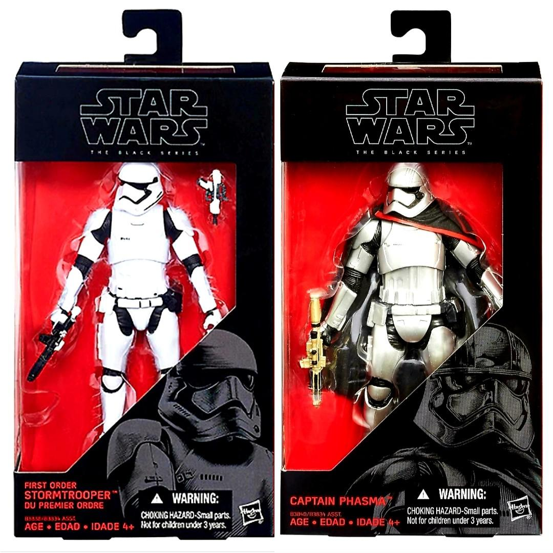 Star Wars Black Series First Order Stormtrooper Force Awakens Figurine No Box