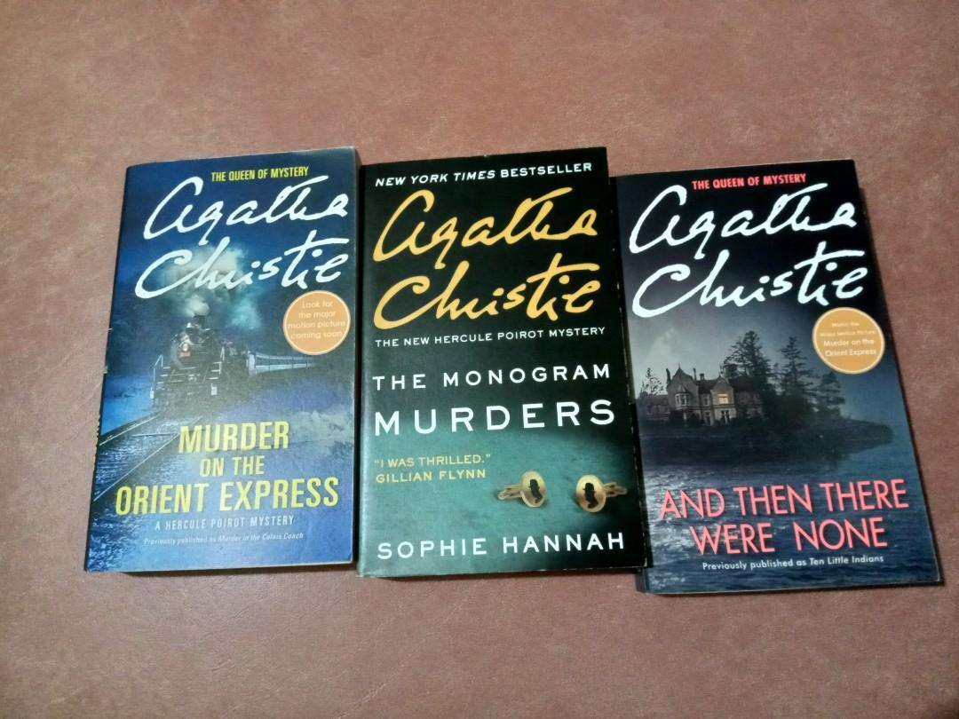 Murder on The Orient Express; And Then There Were None; The Monogram Murders: Agatha Christie