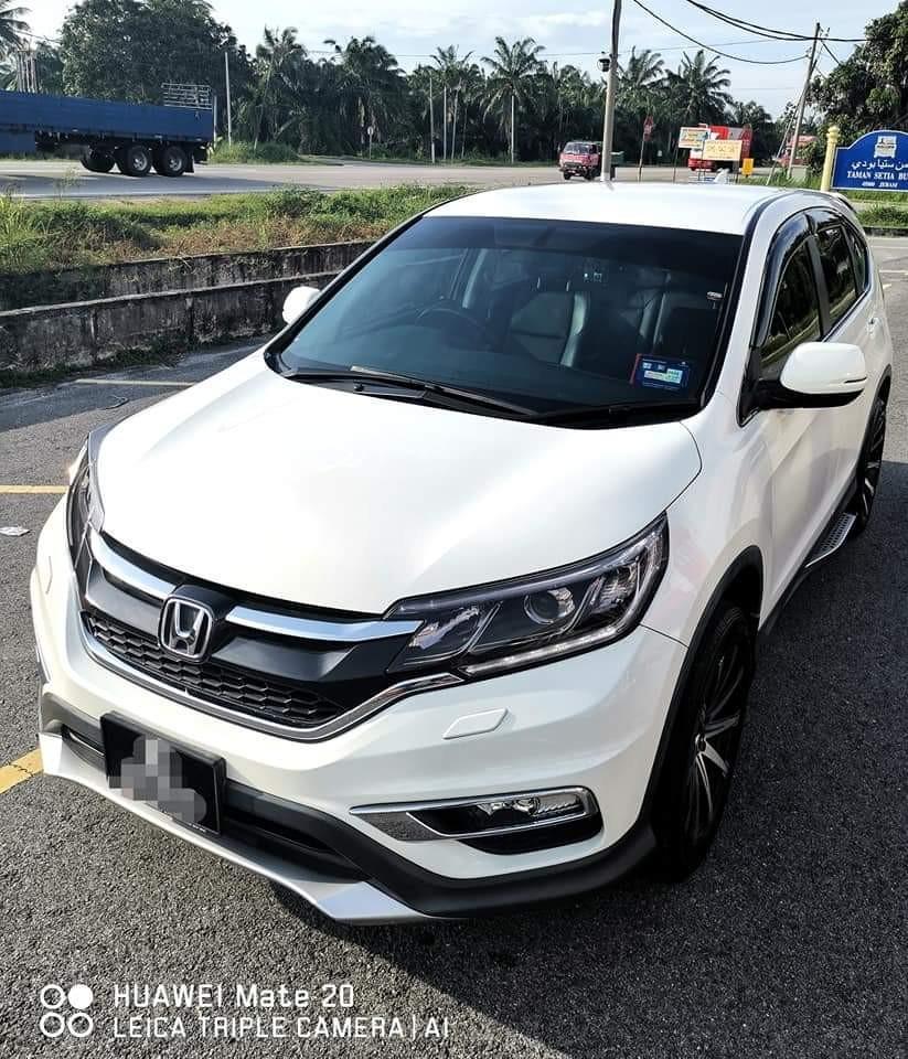 SEWA BELI BERDEPOSIT>>HONDA CRV 2.0 I-VTEC 4WD 2016