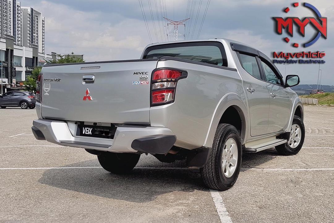 Sewa Beli Mitsubishi Triton 4WD Khas untuk Muflis Bankrap CTOS CCRIS Blacklist