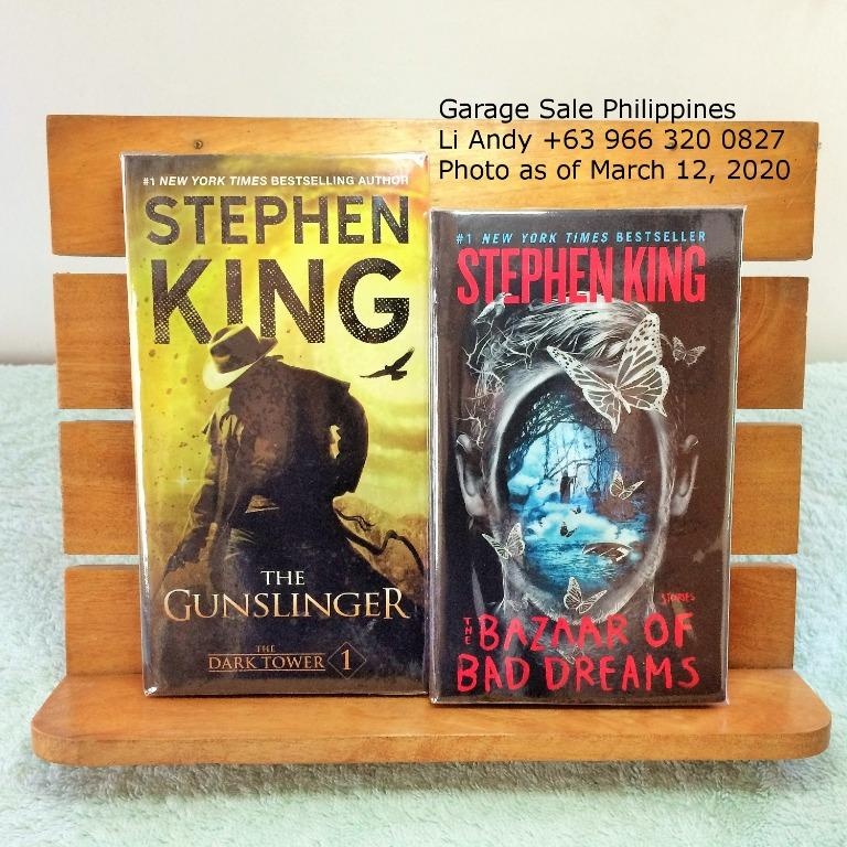 Stephen King Collection, IT, Under the Dome, Gunslinger, Bazaar of Bad Dreams