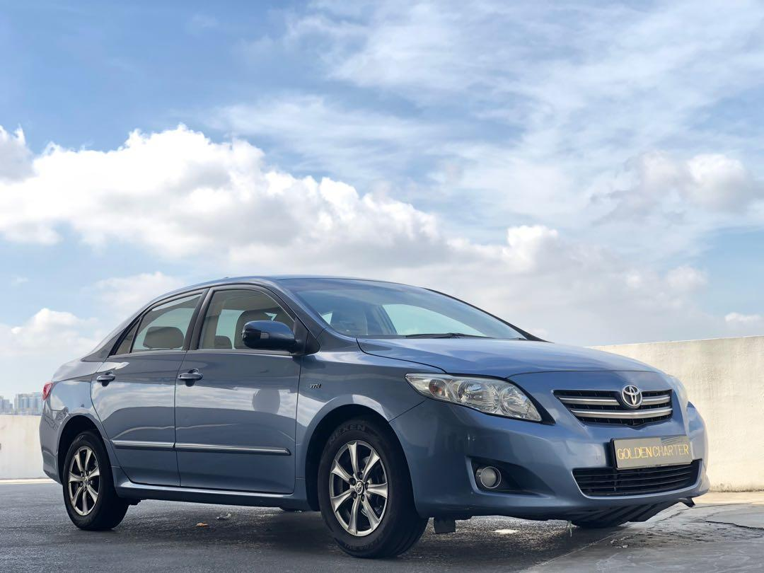Toyota Altis For Rent! Private hire or personal use welcome