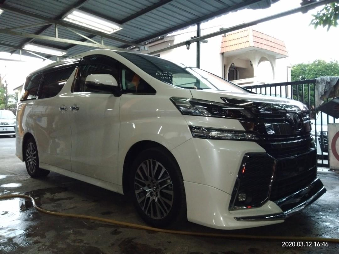 TOYOTA VELLFIRE ZG 2.5 2015RECON🇯🇵 sunroof jpl ON THE ROAD RM249,888.88👍🗣📱0⃣2⃣2⃣3⃣6⃣7⃣2⃣7⃣2⃣☺🙏