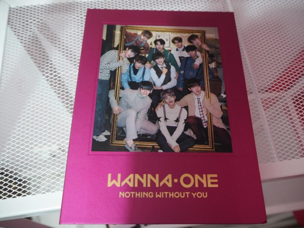WANNA ONE 1-1=0 Nothing Without You Album(ONE Ver.)