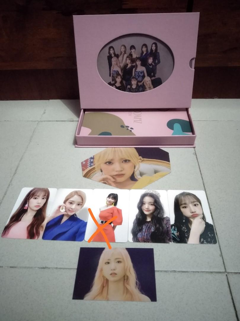 [Want to swap] Bloom*iz iz*one photo card.. Looking for yuri