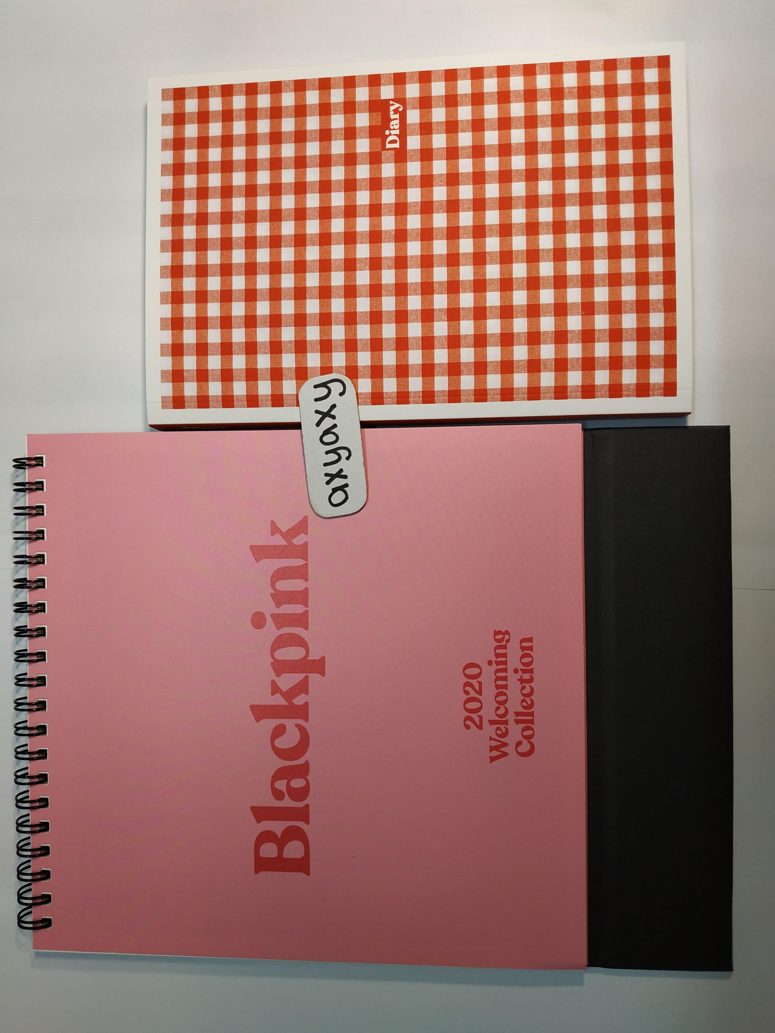 [WTS] BLACKPINK 'S 2020 WELCOMING COLLECTION: calendar + diary