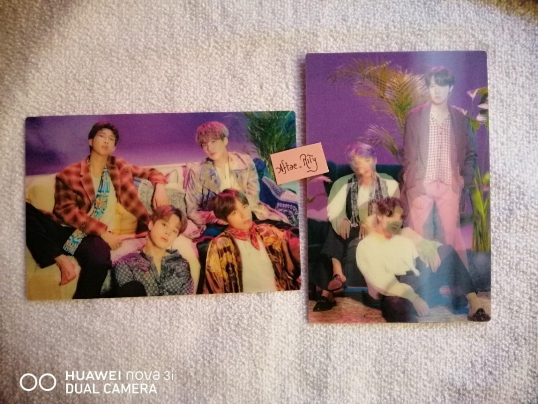 [WTS] BTS 5th Muster Japan Lenticular Postcard set