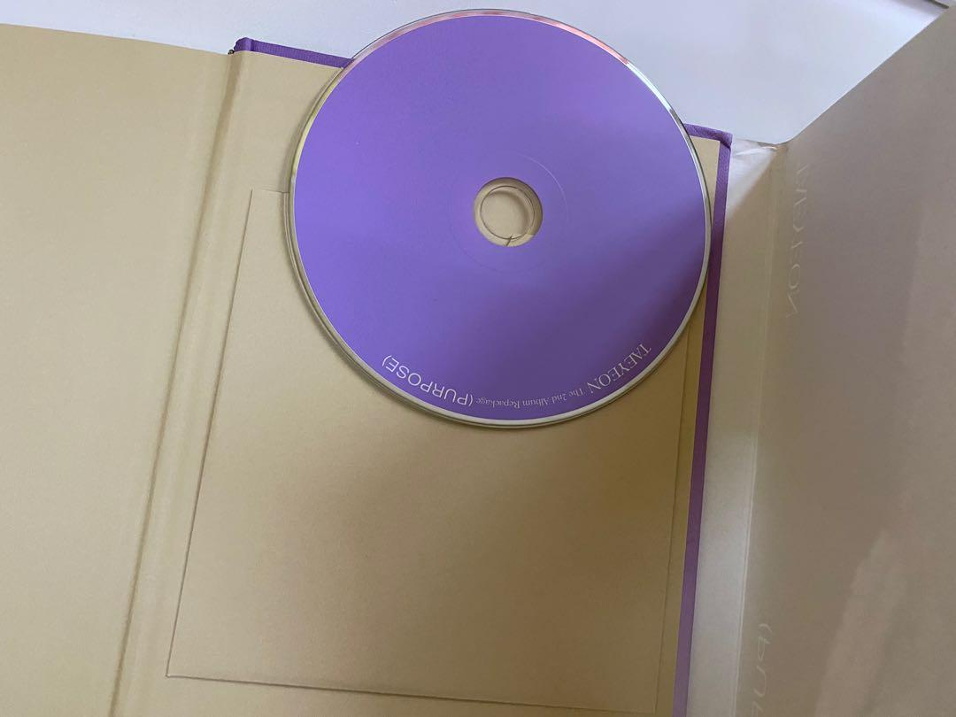 [WTS] Taeyeon Purpose Repackage Purple Version Unsealed Album