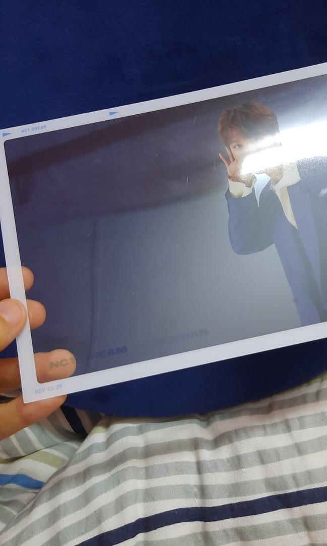 (WTS/ WTT) Haechan NCT Dream Show Transparent Fram