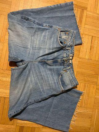 Too shop culottes/jeans
