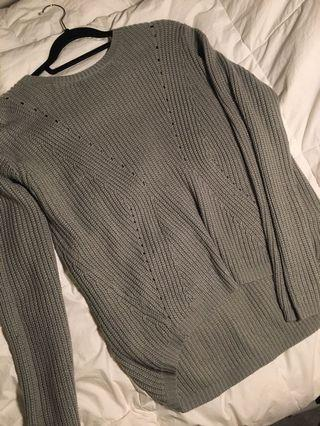 Forever 21 Grey Knitted Sweater