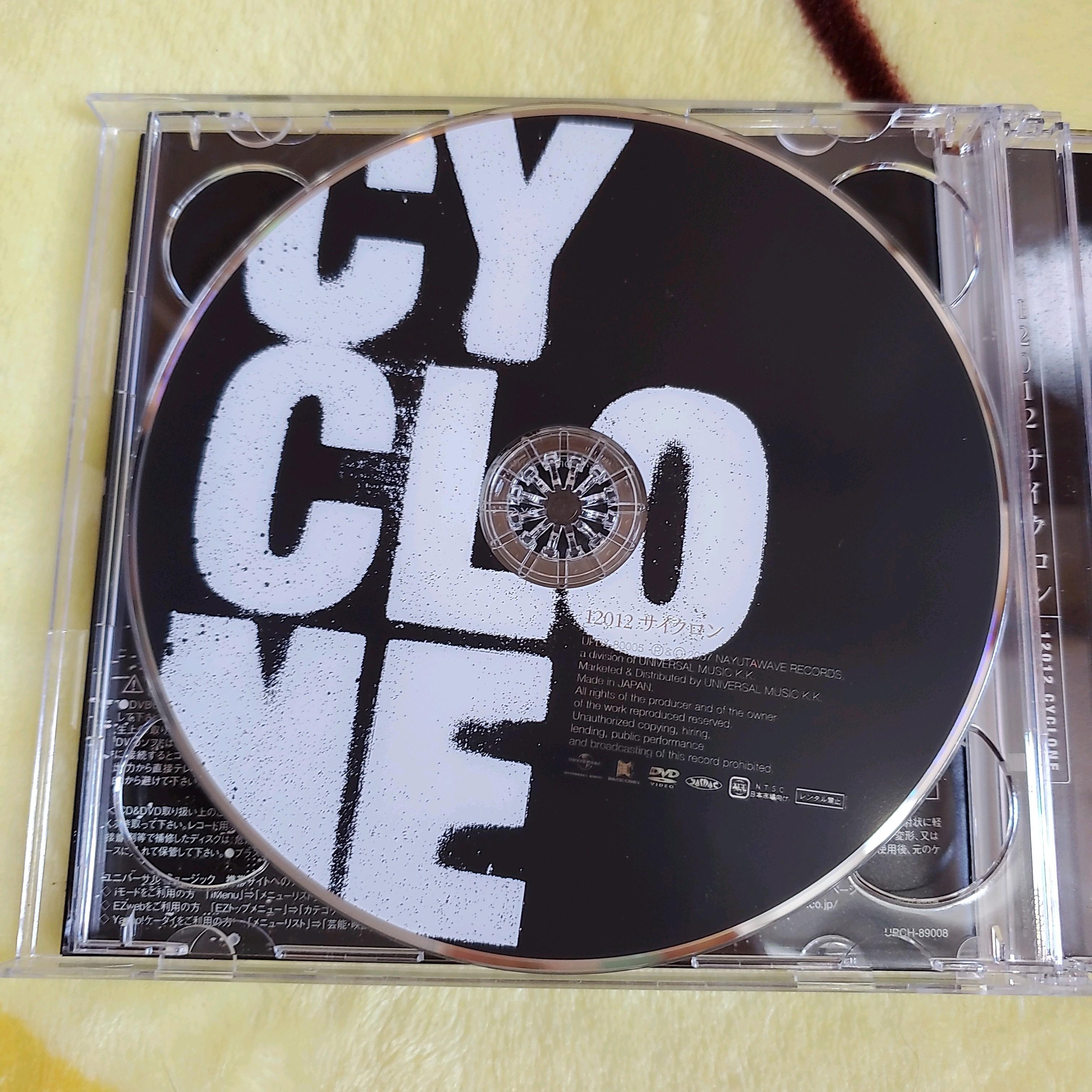 12012 「CYCLO」 CD+DVD初回盤A