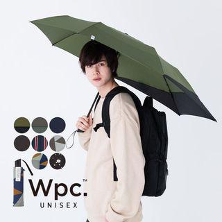 日本 Wpc. Unisex Back Protect 延伸摺疊雨傘