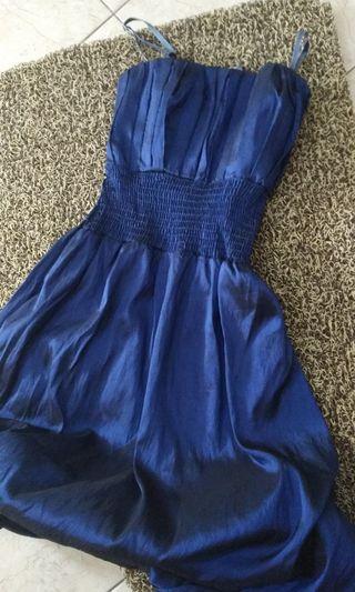 Sale - party Dress blue