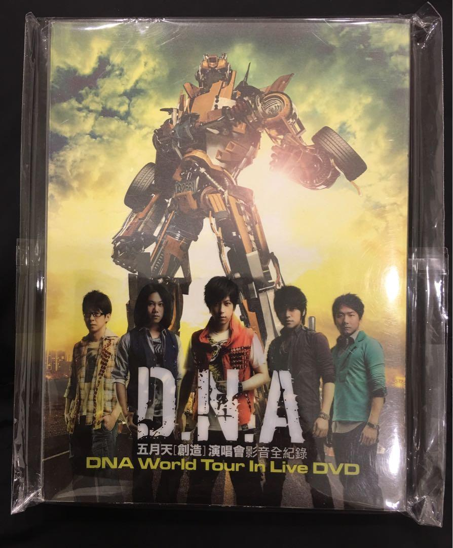 五月天 DNA [創造]演唱會影音Live DVD