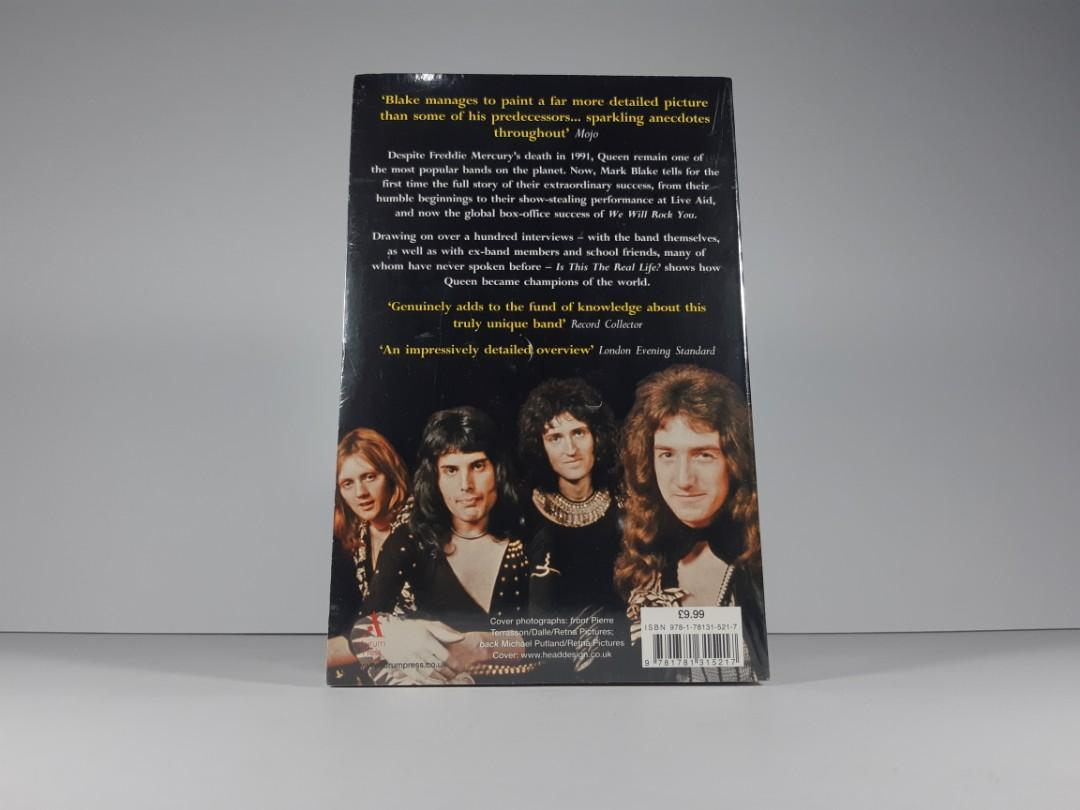 [Book Sale] Is This the Real Life?: The Untold Story of Queen by Mark Blake