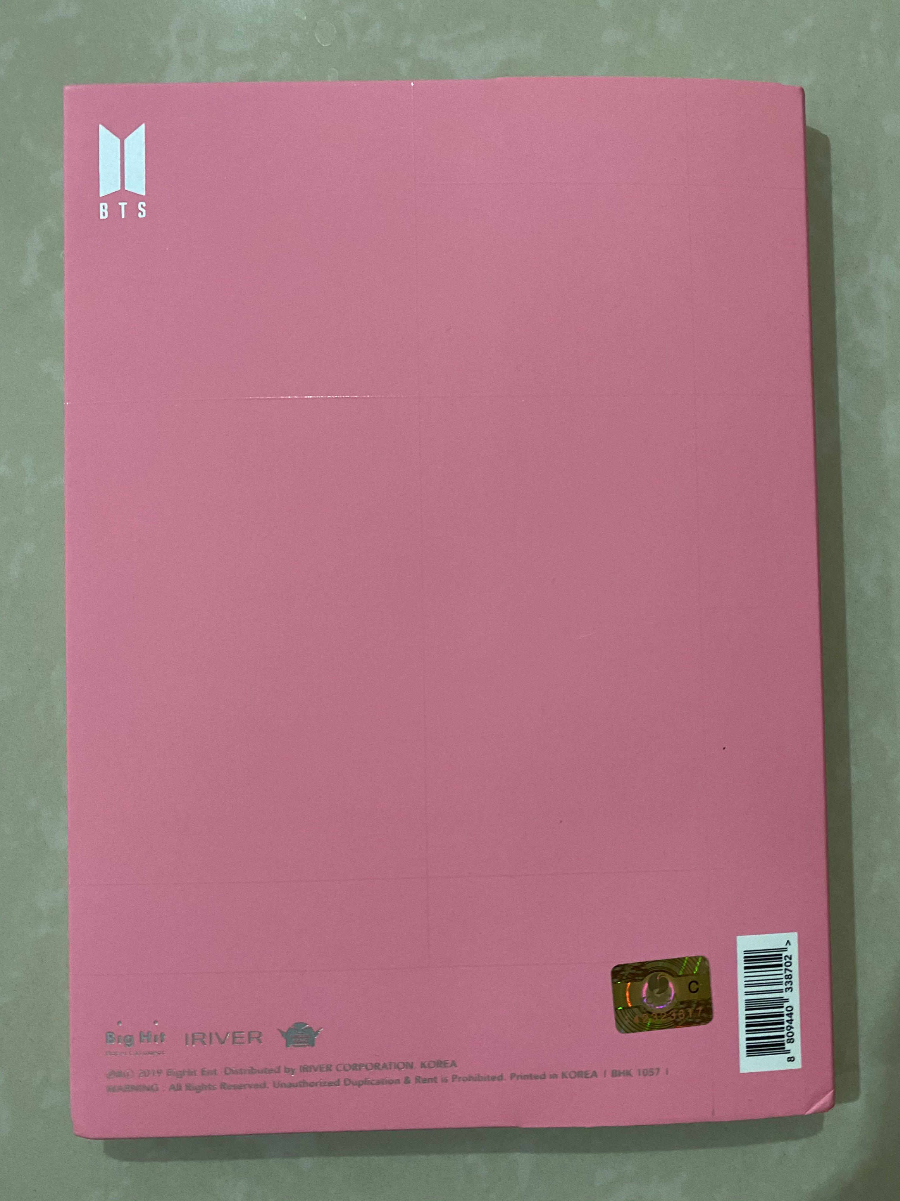 #BTS MOTS: Persona Ver 3 Album (Unsealed / Without photocard)