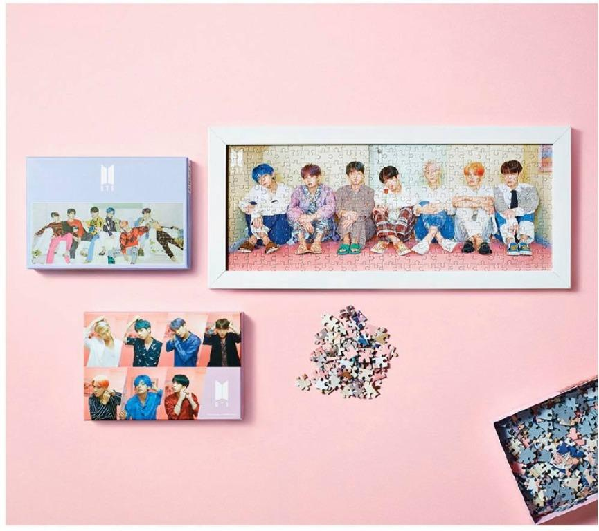 BTS Official Jigsaw Puzzle Persona (4 Types SET) Limited Edition