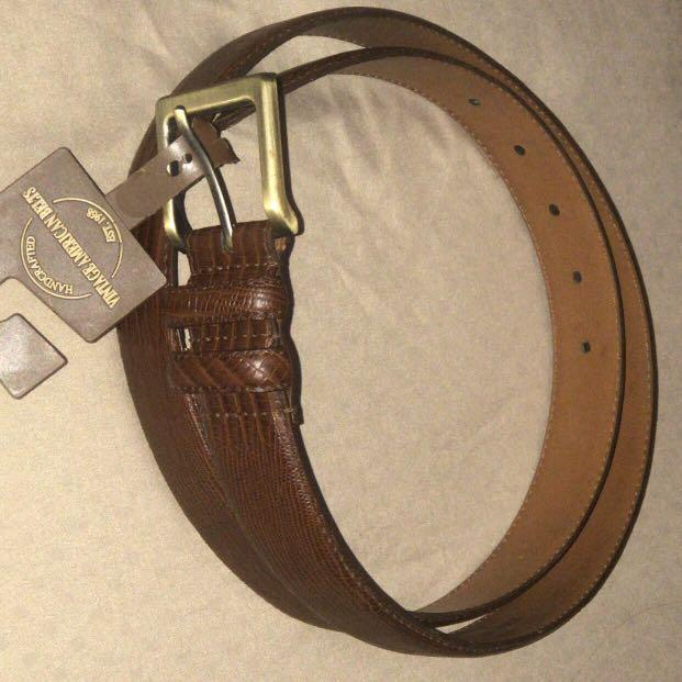 Genuine leather belt unisex/ belt kulit asli made in USA/ ikat pinggang kulit asli/ sabuk kulit pria wanita