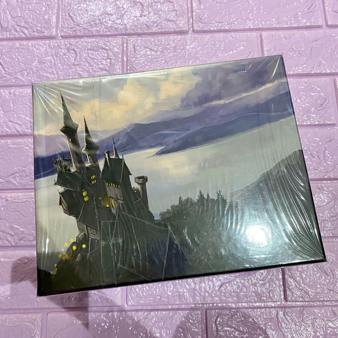 Harry potter BOXED SET UK paperback sold as set Bloomsbury edition on hand slightly used jk rowling hogwarts hermione granger potterhead potter draco