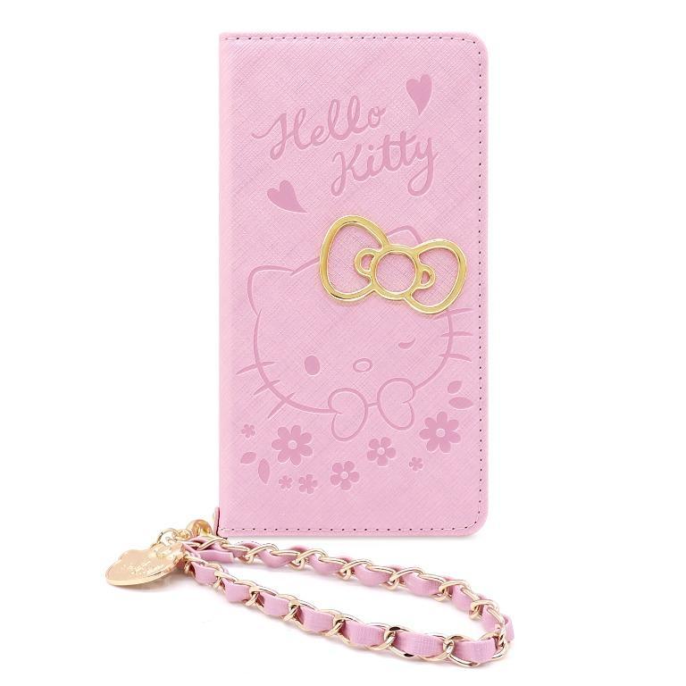 Hello Kitty 側掀皮套 戀愛系列 戀愛粉